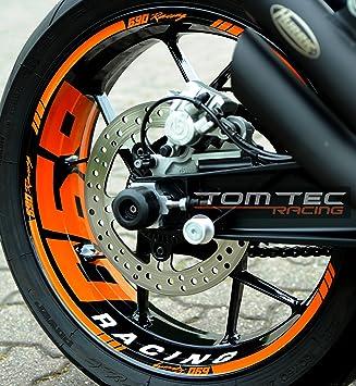 TomTec de Racing® Llanta decorativo para KTM SMC 690 LC4 660 625 ...