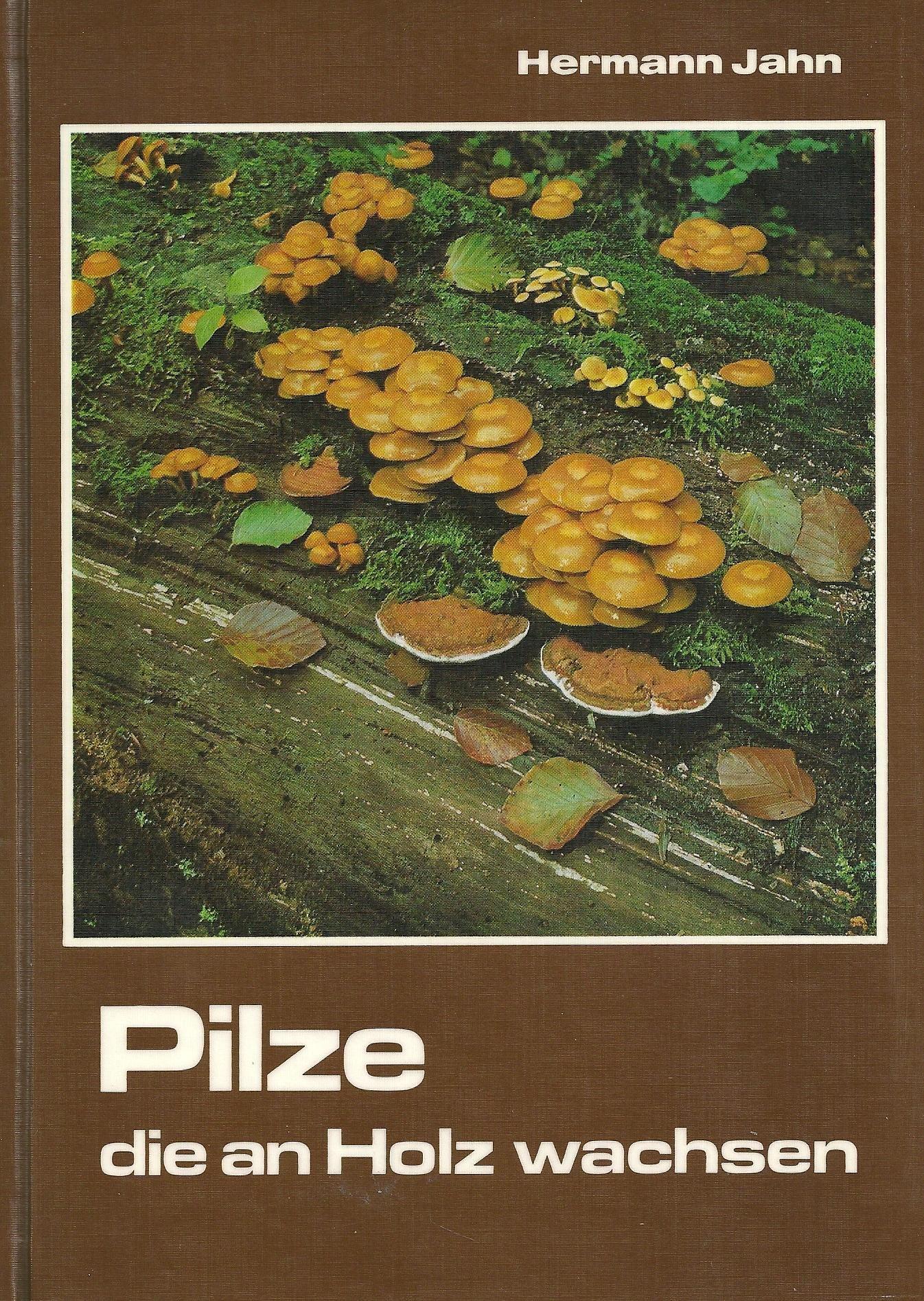 Top Pilze, die an Holz wachsen: Amazon.de: Hermann Jahn: Bücher FO73