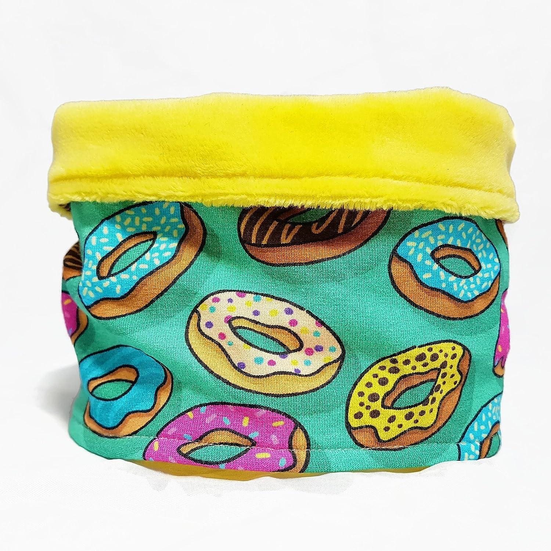 Hundeloop/Hundeschal - Donut/Gelb
