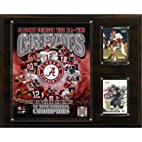 NCAA Football Alabama Crimson Tide All-Time Greats Photo Plaque