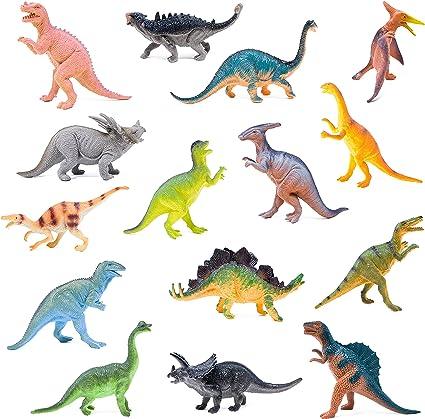 Amazon.com: Set de dinosaurios de juguete Boley Monster ...
