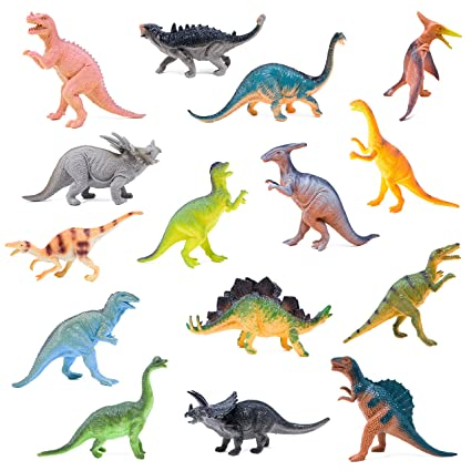 Boley Monster 15 Pack Large 7quot Toy Dinosaurs Set