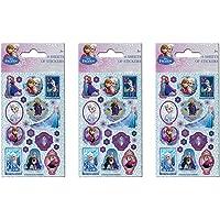 Paper Projects 01.70.24.030 Frozen Party Pack Sticker Bundle (18 Sheets)