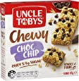 UNCLE TOBYS Muesli Bars Chewy Choc Chip 6 Pack, 185g