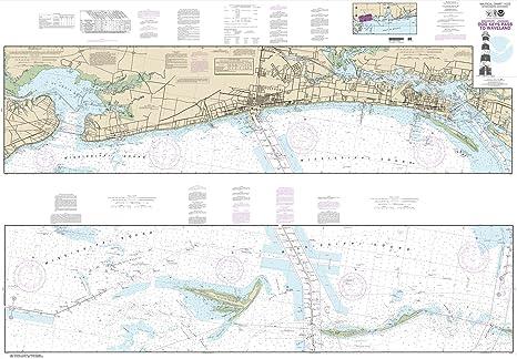 Amazon com : Paradise Cay Publications NOAA Chart 11372