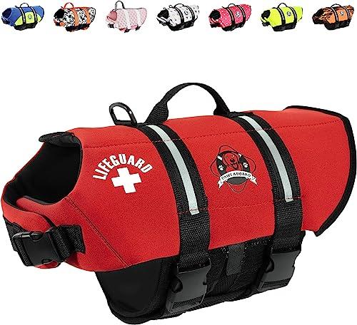 Paws Aboard Lifeguard Neoprene Dog Life Jacket