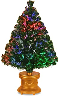 Amazon.com: WalterDrake Fiber Optic Christmas Tree by Northwoods ...