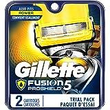 Gillette Fusion ProShield Chill Men's Razor Blade Refills, 4 Count