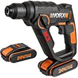WX390.1 Worx - H3®Taladro / tournevis / marteau 2 batteries 20V - 2,0Ah Li-Ion.