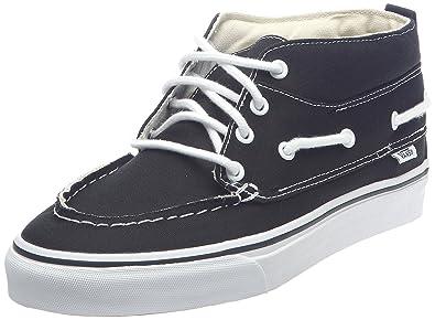 5b1909a5b04 Vans CHUKKA DEL BARCO (Black True White) Men s Skate Shoes 13 US
