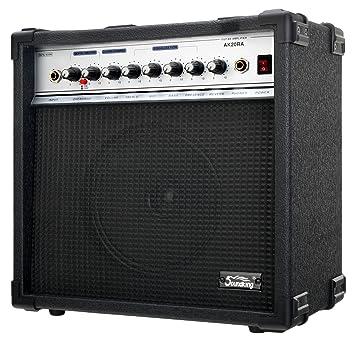 Soundking AK20-RA - Amplificador bajo eléctrico, 2 canales, 60 W