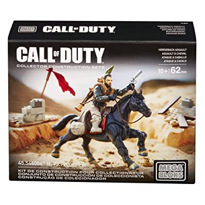 Mega Construx Call of Duty Horseback Assault: Toys & Games [5Bkhe0702465]