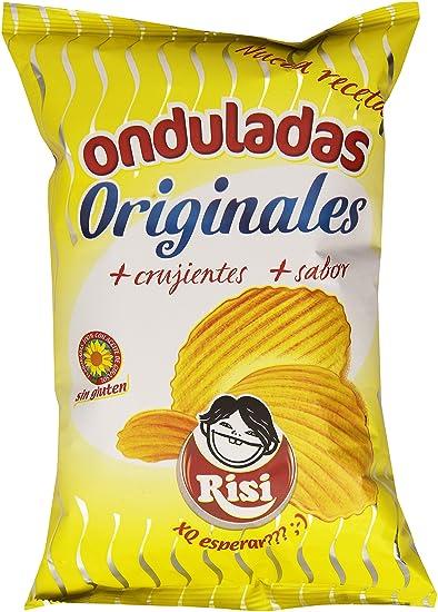 Patatas fritas onduladas Originales Risi 100g
