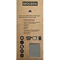 MOLBRA Gamuza Premium Microfibra Anti-Vaho - 12 Horas de Efecto y 300 Usos - Sin Líquidos Adicionales - Libre de P.F.O.A…