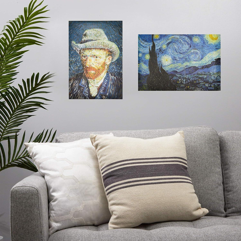 Poster di Vincent Van Gogh confezione da 20 13 x 19 cm