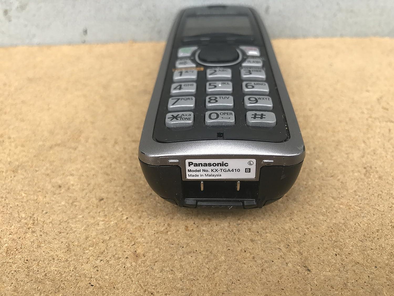 2 Panasonic KX-TGA410B  Cordless Expansion Handset Phone KX-TGA410