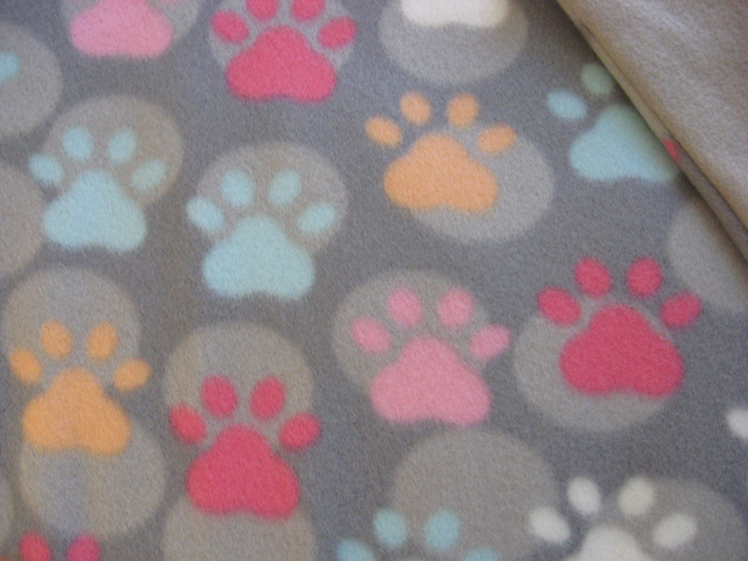Assorted Pet Themed Fabric Catnip Blankets