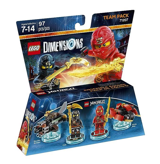 EditionV Pack Lego Team Dimensions Kaiamp; Cole Standard Ninjago 0PXnO8kw