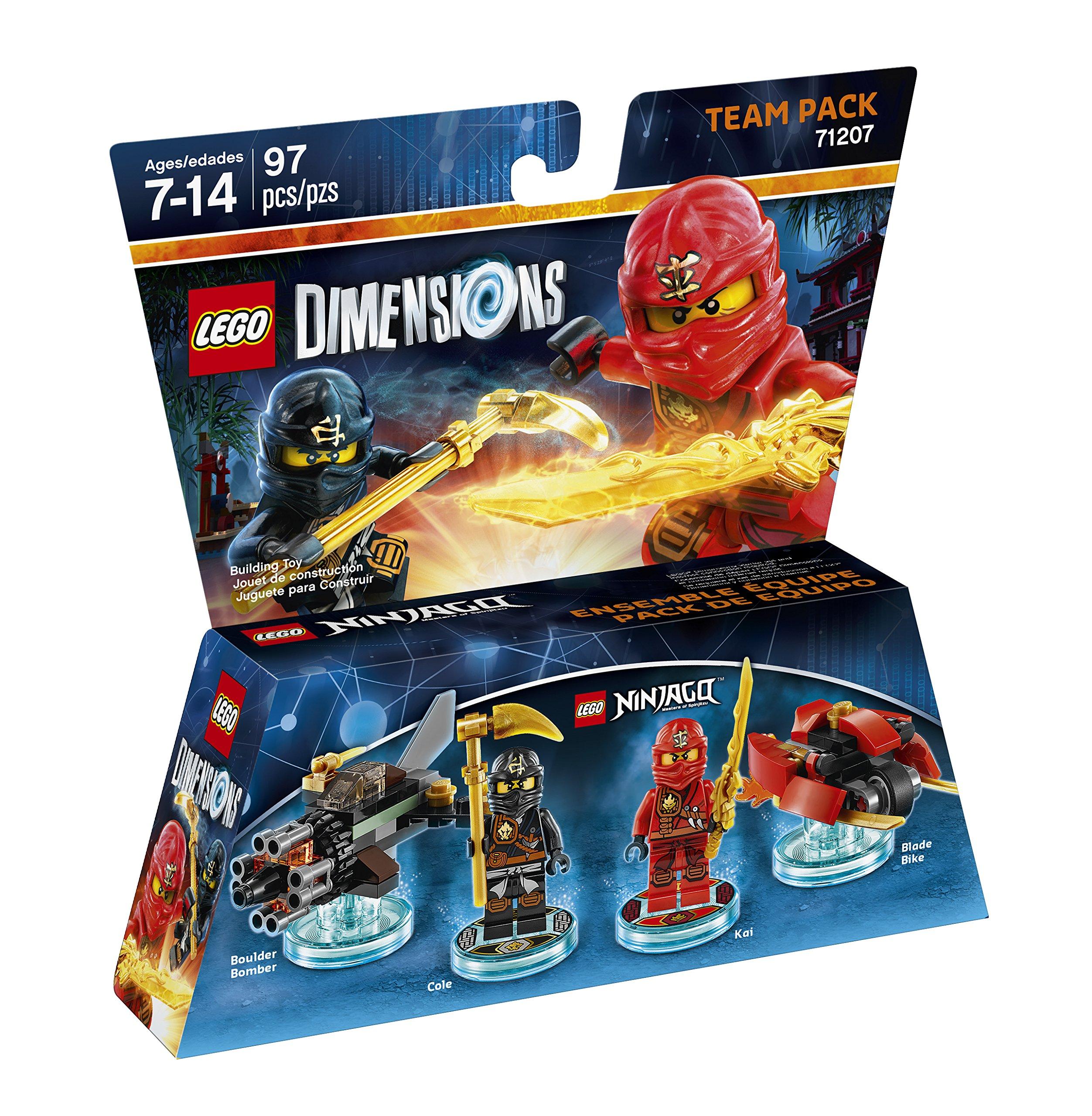 Ninjago Team Pack Lego Dimensions Tiendamiacom