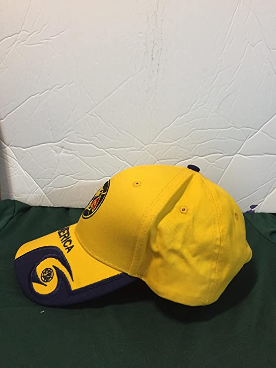 Amazon.com : Full 90 New! Club America Aguilas Adjustable Cap mexico : Sports & Outdoors