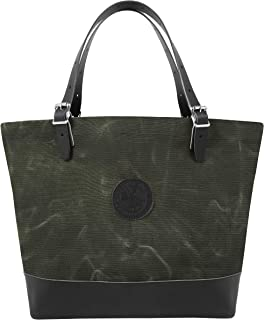 product image for Duluth Pack Market Deluxe Tote (Waxed Olive Drab)