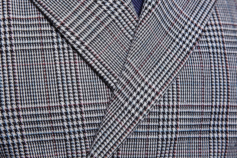 FULIER Gilet Homme Costume Veste Slim Fit Manches Col en V Double Boutonnage Classique Gilets Mariage Business Veste Gris