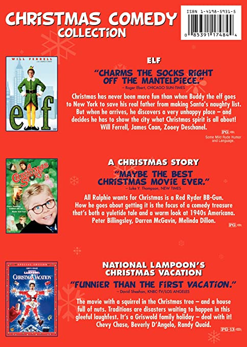 amazoncom christmas comedy collection elf a christmas story national lampoons christmas vacation movies tv - What Year Did A Christmas Story Take Place