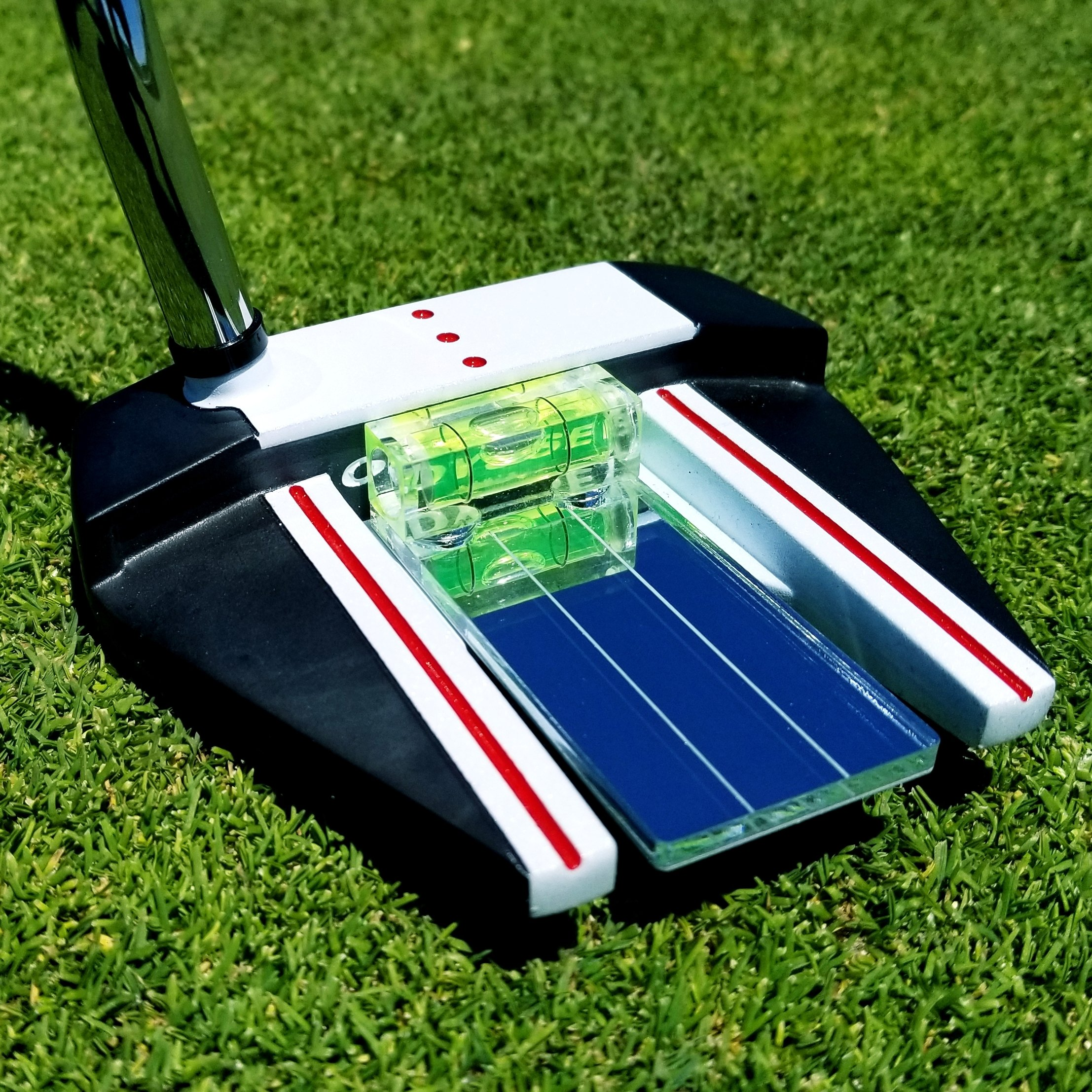 Eye Putt Pro Training Aid Putting Alignment Mirror - Position Your Eyes Over the Golf Ball In 2 Simple Steps