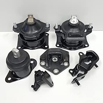 OEM Quality Motor Mount Set 5PCS for 2003-2007 Honda Accord 3.0L for Auto Trans.