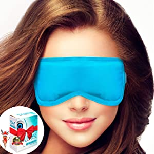 Microwavable Warm Compress for Dry Eyes by Pliae - Moist Heat Eye Mask for Pink, Puffy Eyes, MGD Aid, Blepharitis Treatment, Stye Remedy, Relief of Chalazion   Hot Therapy   Reusable, hygienic Pads