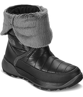 76ad3477b Amazon.com | The North Face Girl's Amore Boot Shiny TNF Black / TNF ...