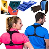 Back Posture Corrector for Women & Men - Comfortable Posture Brace for Slouching | Clavicle Support | Thoracic Kyphosis Brace (Posture Corrector)