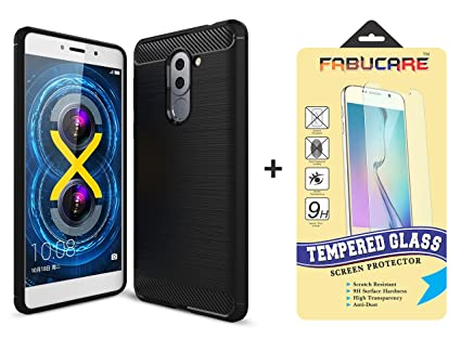 new style 602d4 b708c Lenovo K8 Note Back Cover Case and Tempered Glass Combo Pack Black - for  Lenovo K8 Note - August 2017 Launch