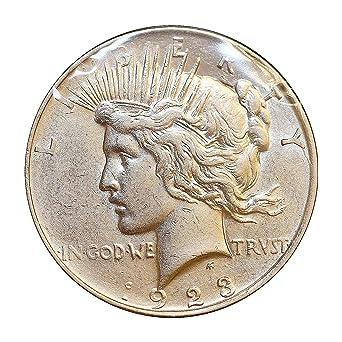 1923-D Peace Dollar Brilliant Uncirculated BU