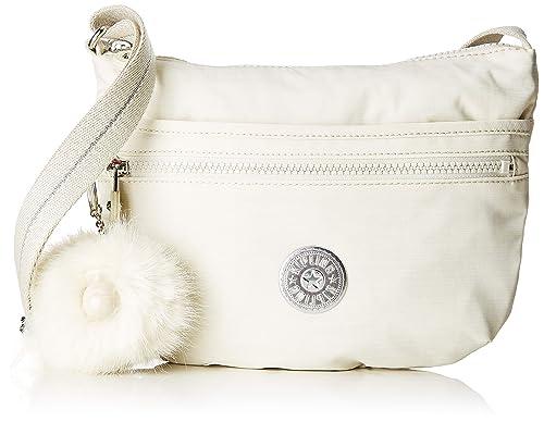 58946a91cac0a4 Kipling Arto S - Borse a tracolla Donna, Bianco (Dazz White): Amazon ...