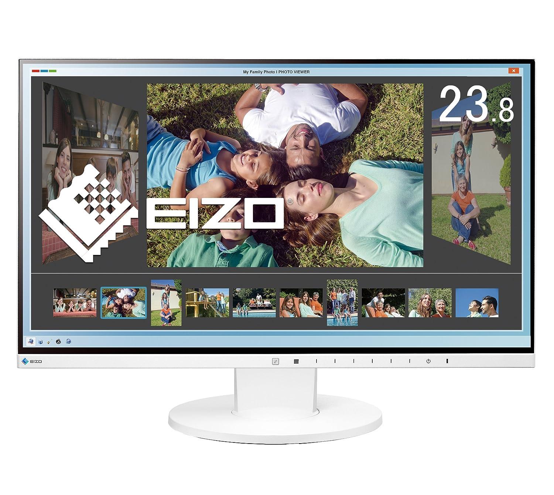 EIZO FlexScan 23.8インチ カラー液晶モニター ( 1920×1080 / IPSパネル / 5ms / ノングレア/ ホワイト ) EV2450-WTR B014IKZ45I
