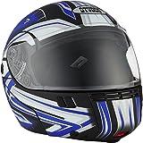 Studds Full Face Helmet Ninja 3G D1 (Matt Black N1, L)
