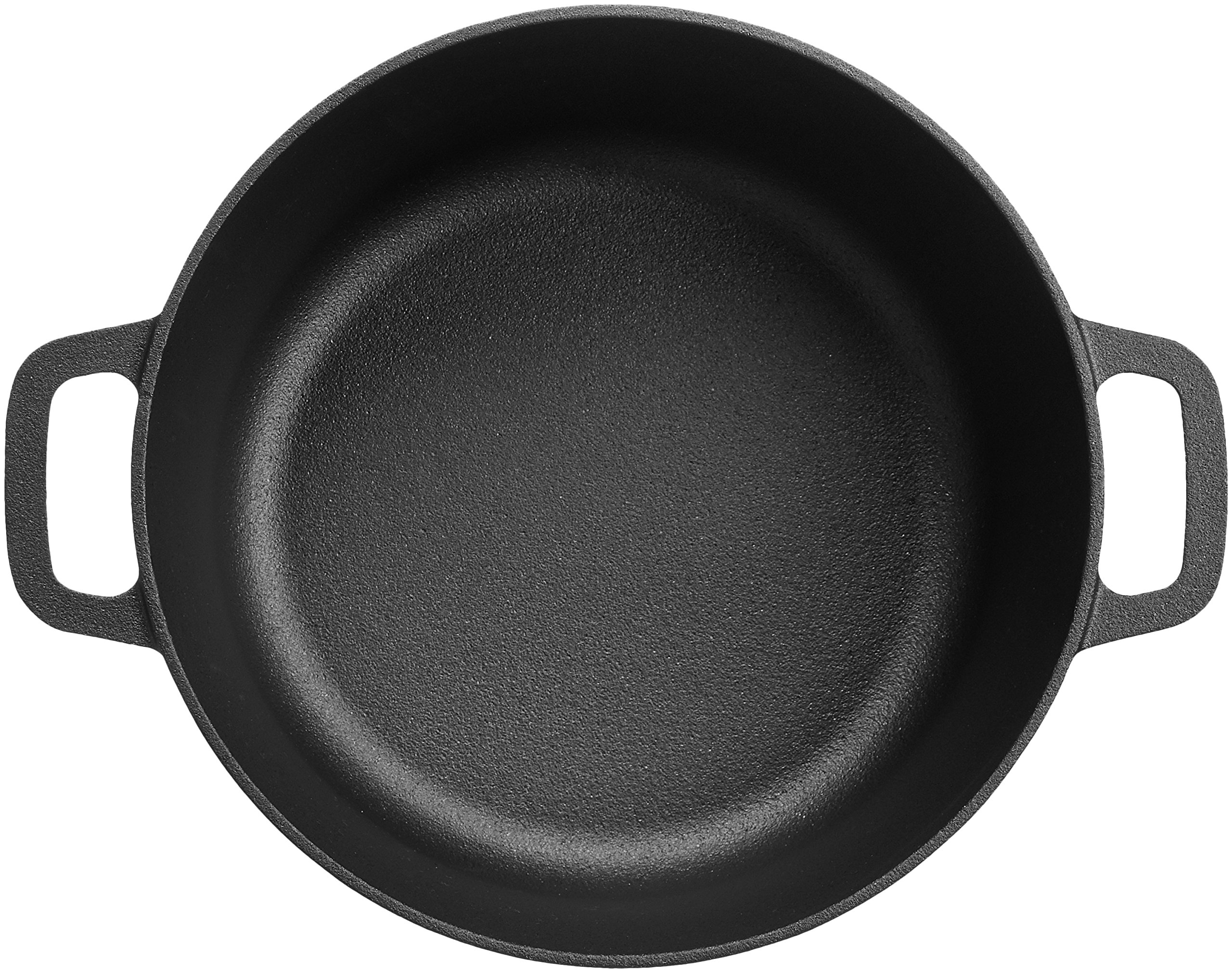 AmazonBasics Pre-Seasoned Cast Iron Dutch Oven with Dual Handles - 5-Quart by AmazonBasics (Image #5)