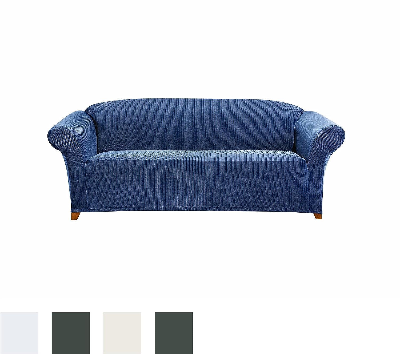 Amazon Sure Fit Simple Stretch Ribbon 1 Piece Sofa