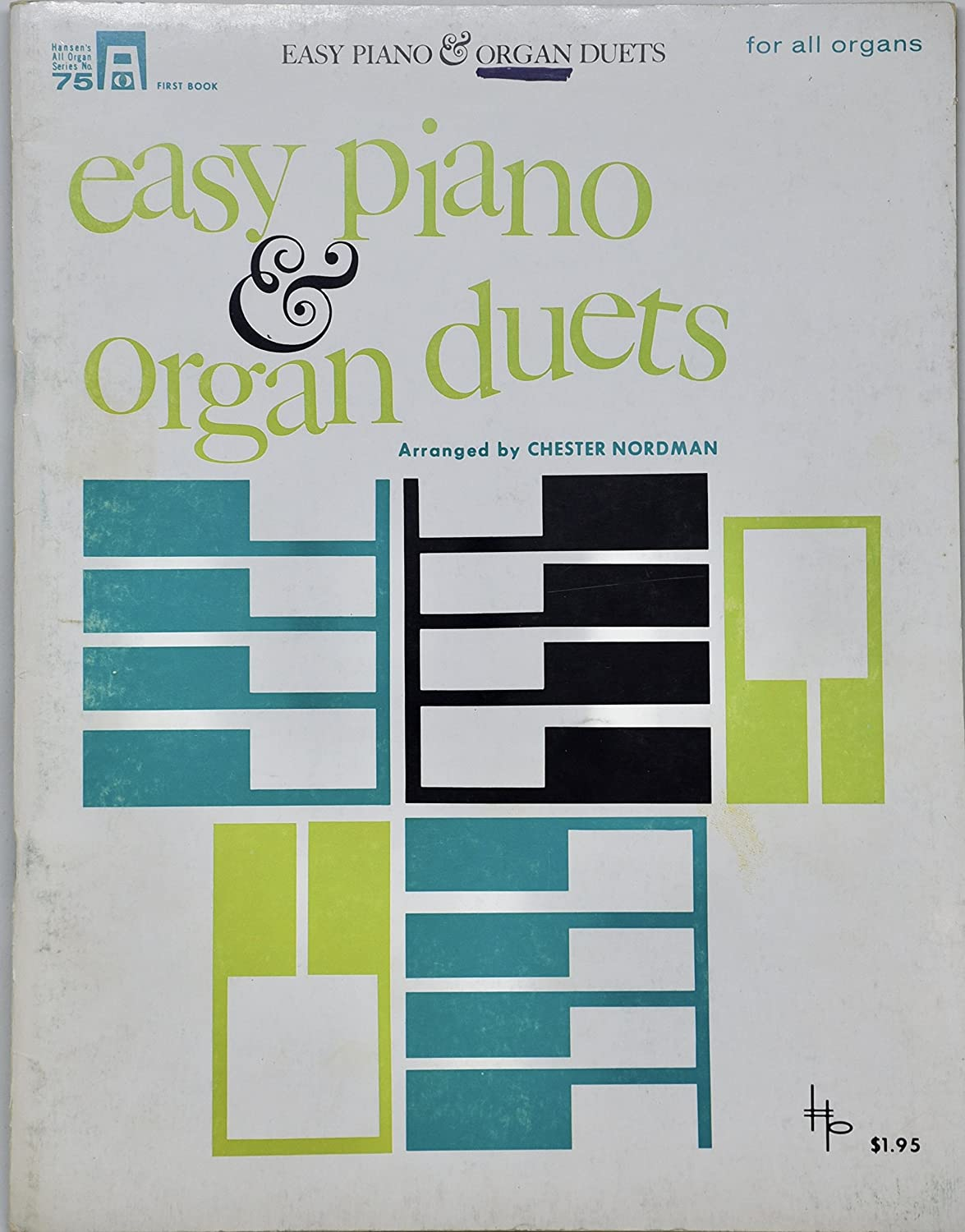 B06X1DJDTR 1964 - Easy Piano & Organ Duets - Hansen All Organ Series No. 75 91Ub152MdpL