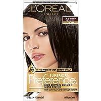 L'Oreal Paris Superior Preference Fade-Defying + Shine Permanent Hair Color, 4A...