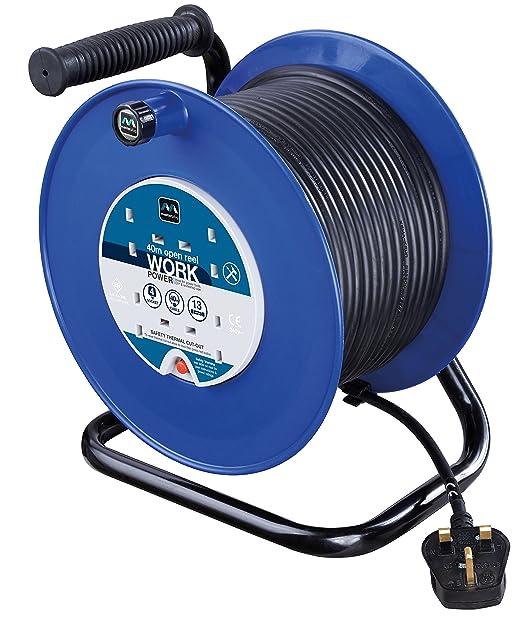 Masterplug HDCC4013/4BL-MP - Hdcc4013 / 4Bl 40M 4 Socket 13 Amp ...