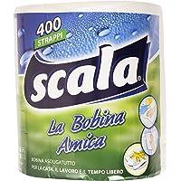 Scala Bobina Asciugatutto di 400 Strappi - 1 Pezzo