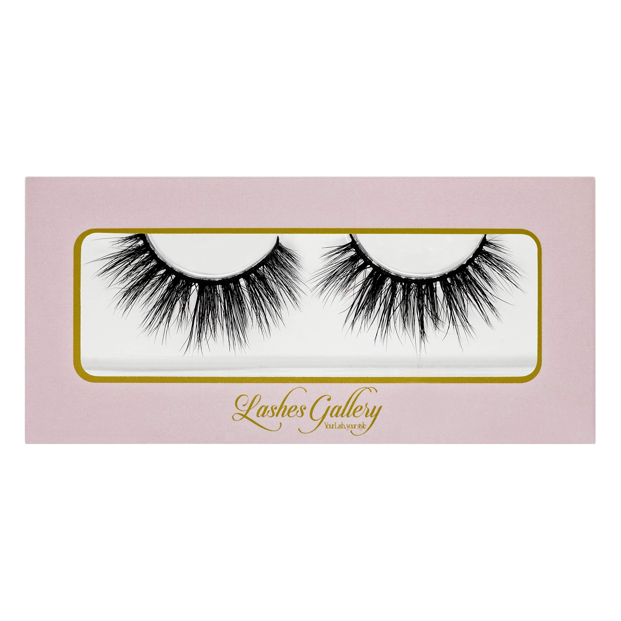 77e1a784e10 Sultry 3D Premium Mink Fur False Eyelashes. Cruelty-Free with Natural Soft  Curl.