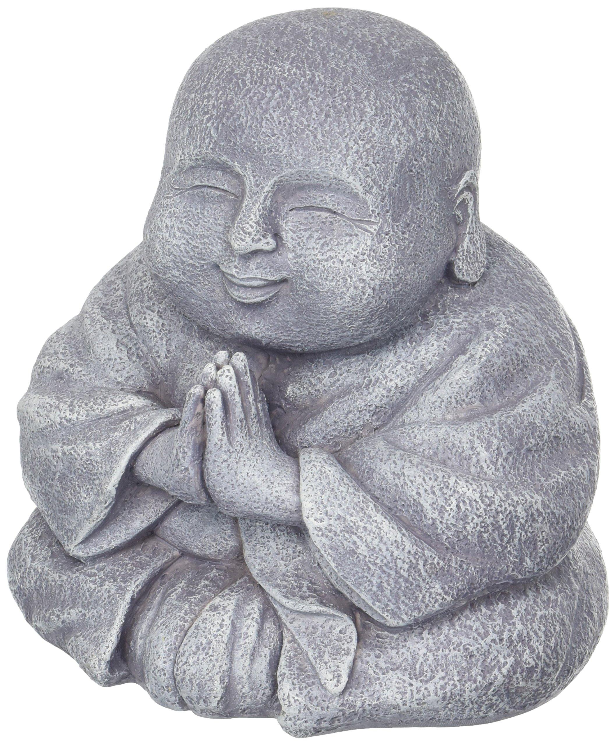 Grasslands Road Happy Praying Buddha Statue Figurine by Grasslands Road