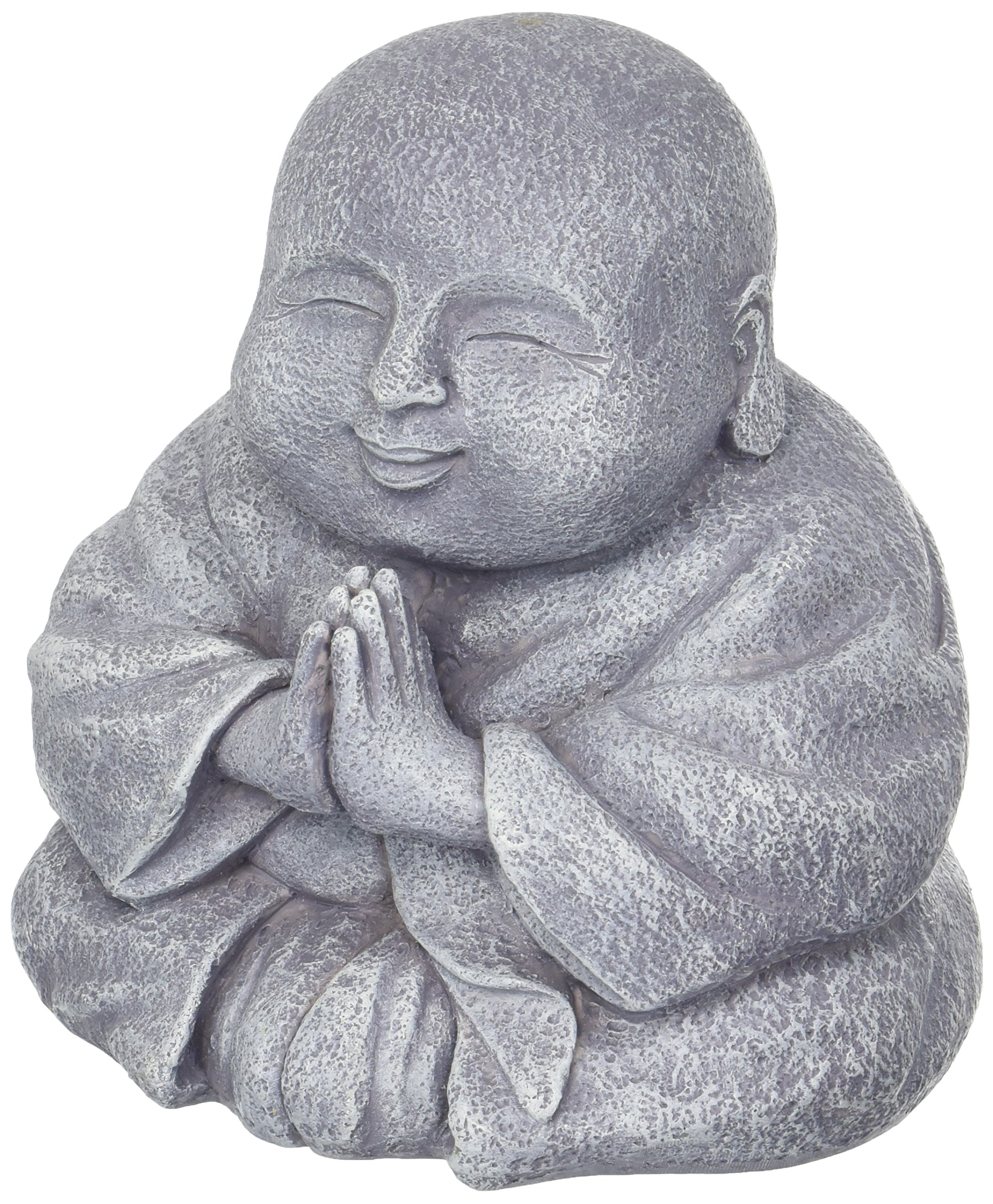 Grasslands Road Happy Praying Buddha Statue Figurine