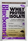 BlueBonnet 100% Natural Whey Protein Isolate Powder, Chocolate, 8 Count