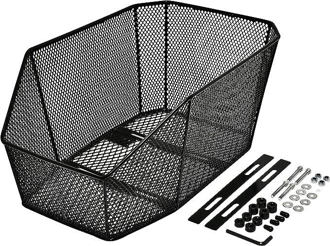 Büchel Jumbo Pro 2 40502400 Bicycle Basket Black: Amazon.de: Sport & Freizeit