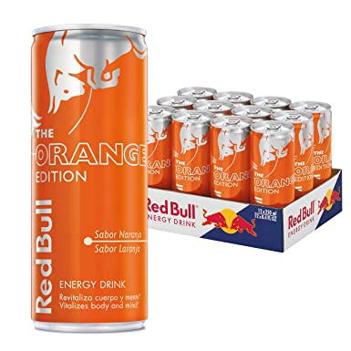 b6738ef502b52 Red Bull Bebida energética (Orange Edition) - 12 de 250 ml. (Total ...