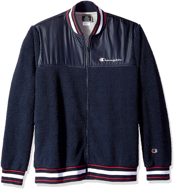 Champion LIFE Men's Sherpa Baseball Jacket V3375